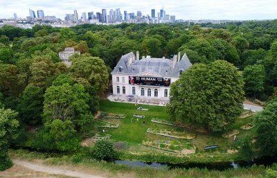 Domaine Lonchamp,  centre dédié à l'Humanisme et à l'Ecologie. Yann Arthus-Bertrand