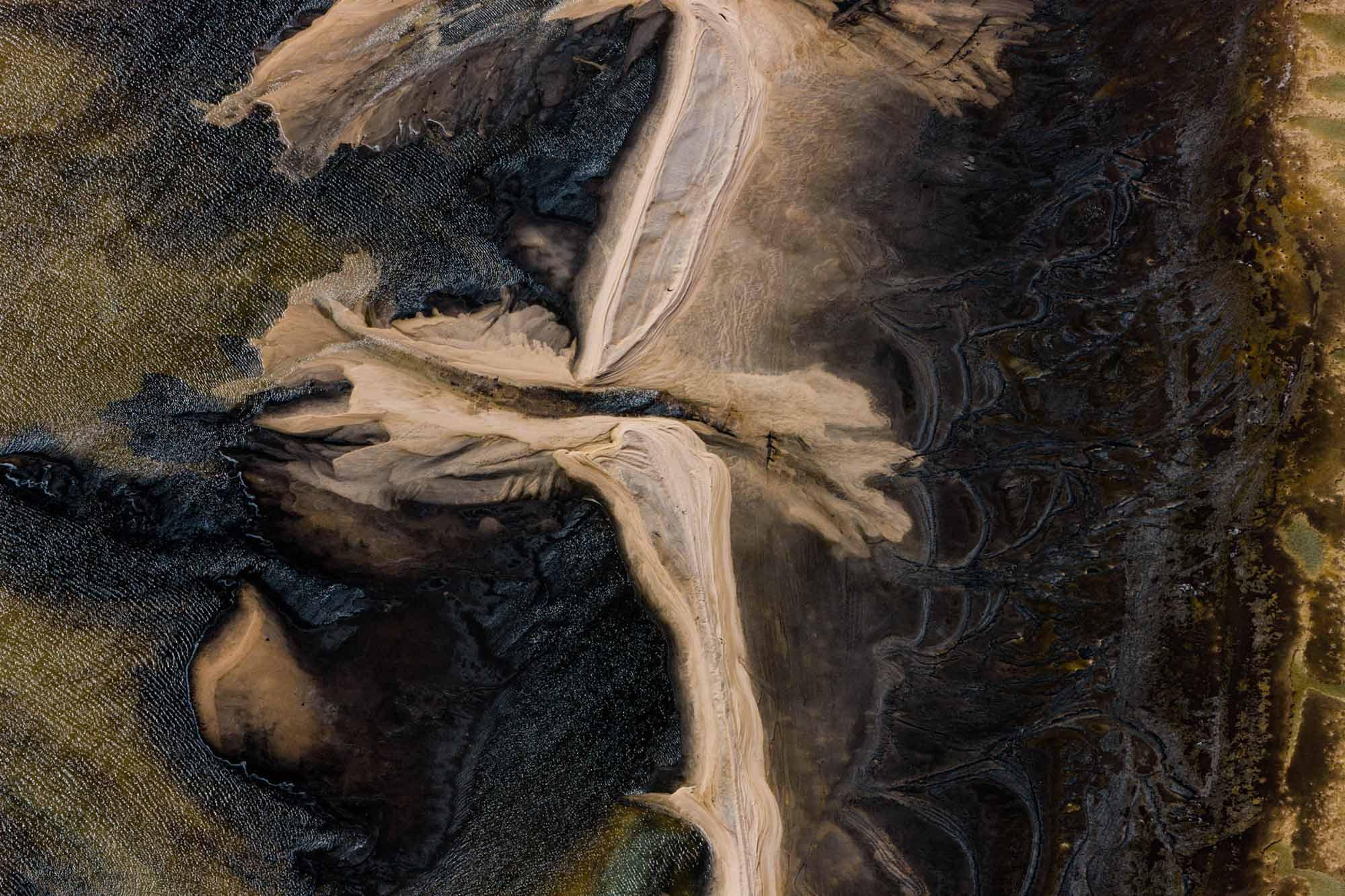 Sandbanks - Yann Arthus-Bertrand