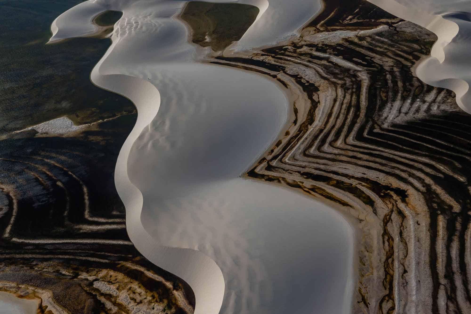 Dune, Bresil - Yann Arthus-Bertrand Photo