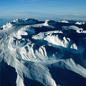 Ice sculpted, Antarctica - Yann Arthus-Bertrand Photography