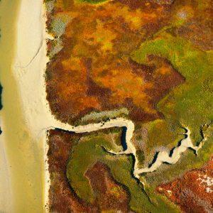Marsh landscape, Republic of South Africa - Yann Arthus-Bertrand Photography