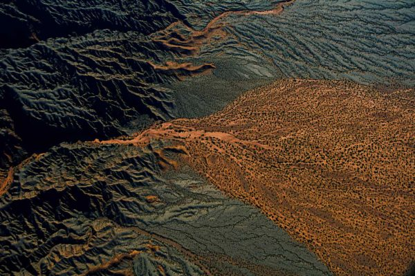 Relief, Argentina - Yann Arthus-Bertrand Photography