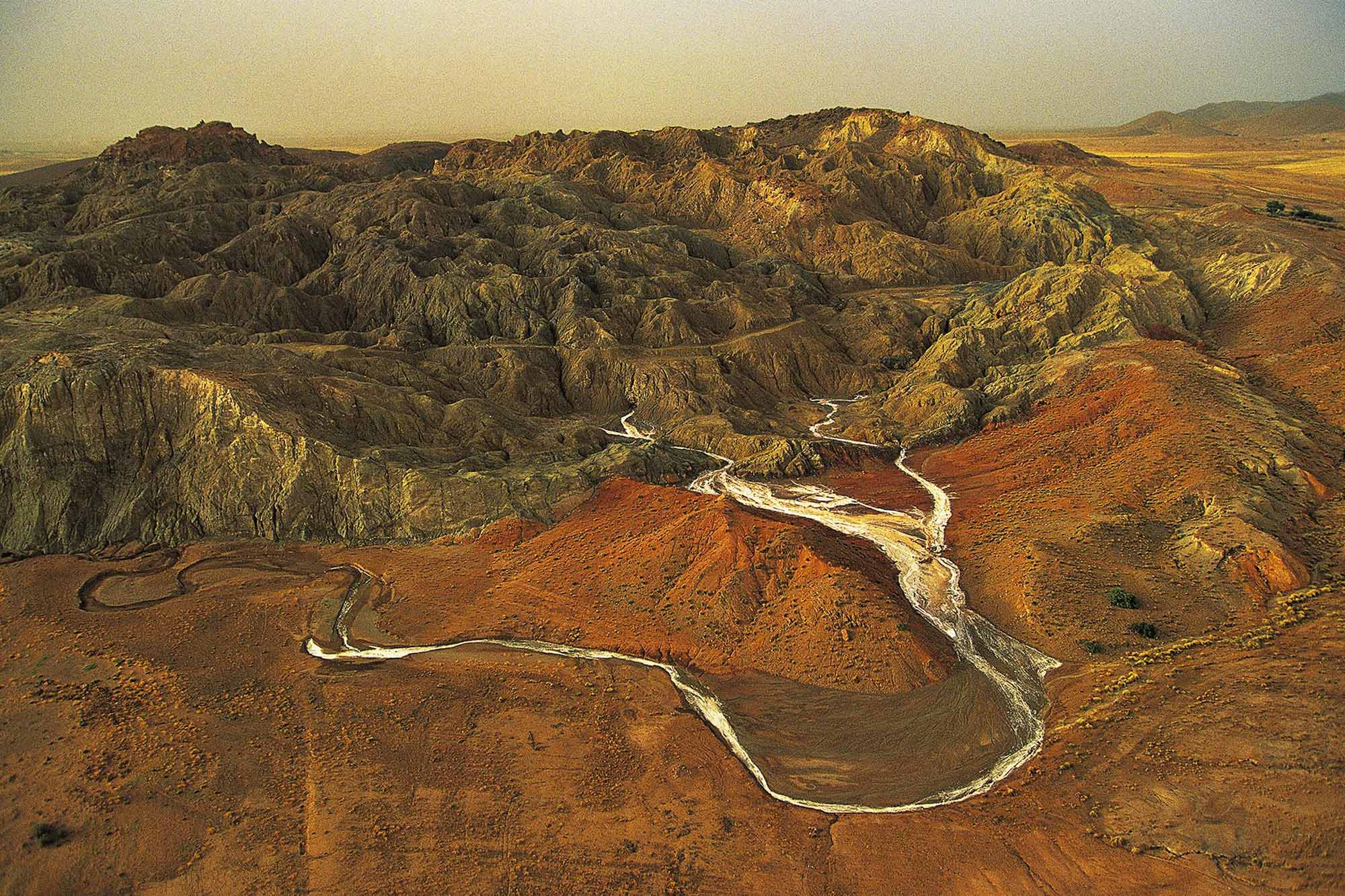 Rocher de Sel, Algérie - Yann Arthus-Bertrand
