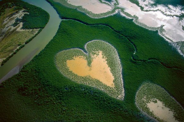 Coeur de Voh - Yann Arthus-Bertrand Photo