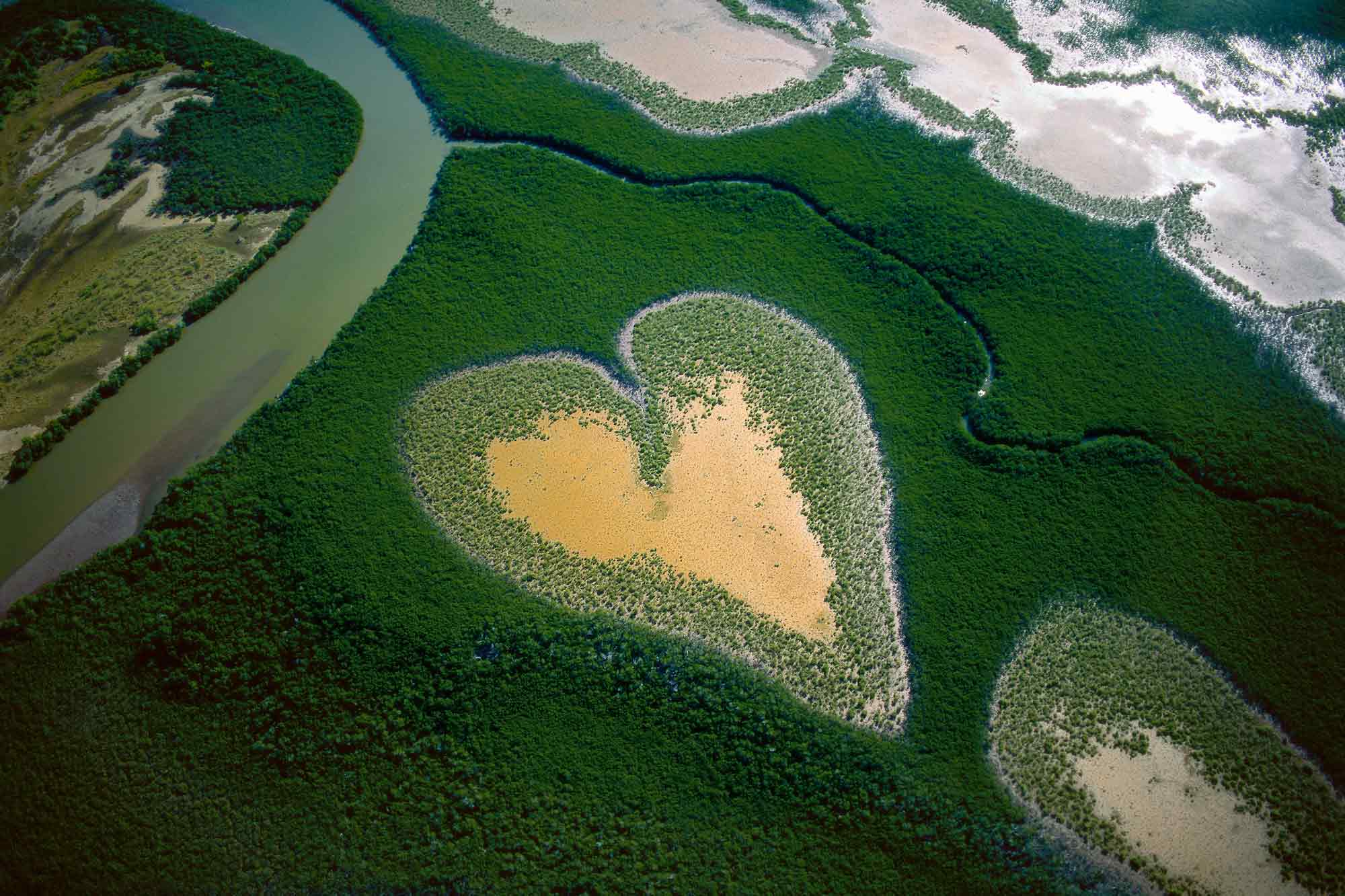 Heart of Voh - Yann Arthus-Bertrand
