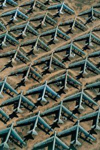 Base aérienne Davis Monthan - Yann Arthus-Bertrand Photo