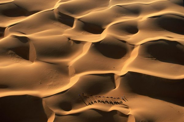 Caravan, Mauritania - Yann Arthus-Bertrand Photography