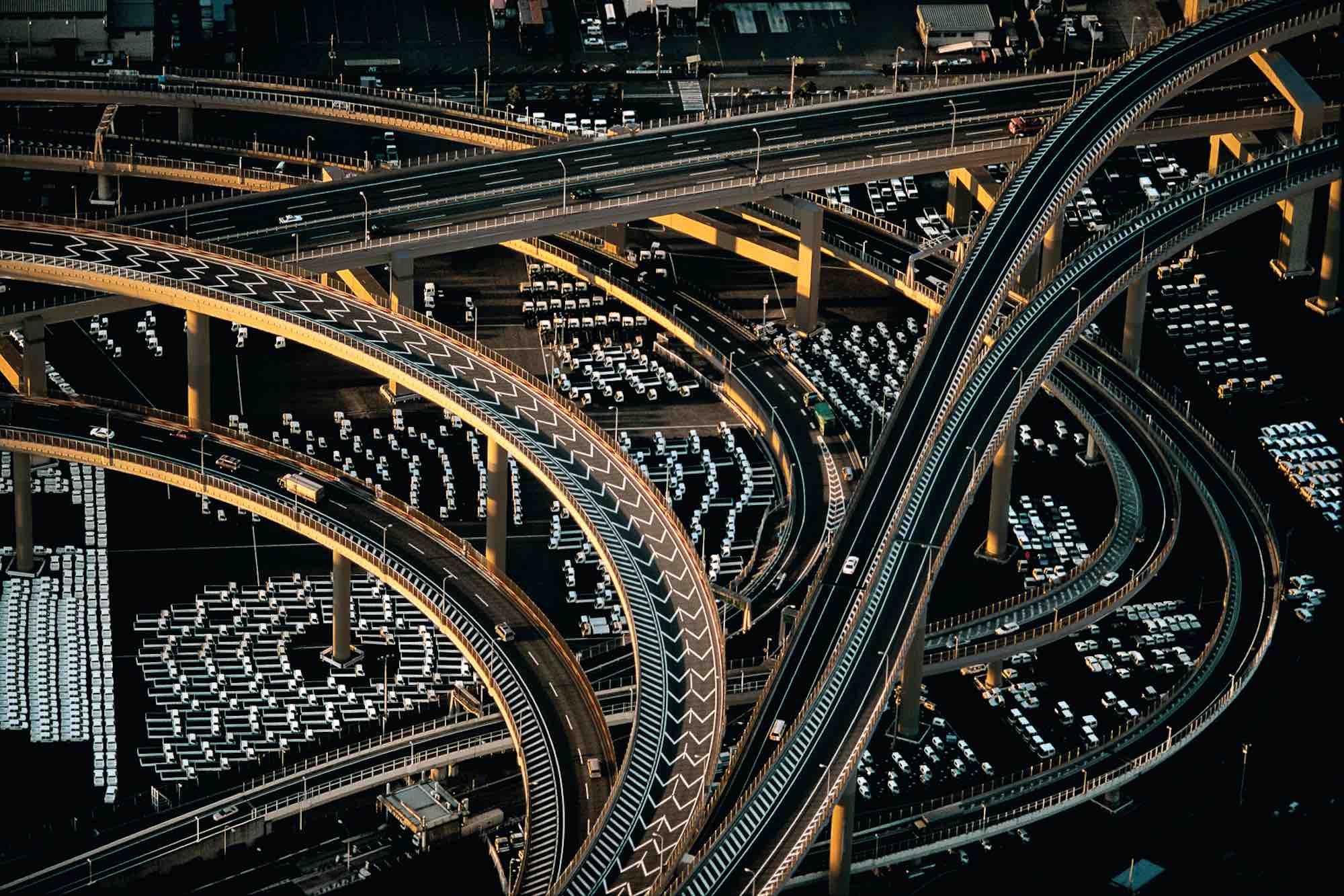 Motorway - Yann Arthus-Bertrand