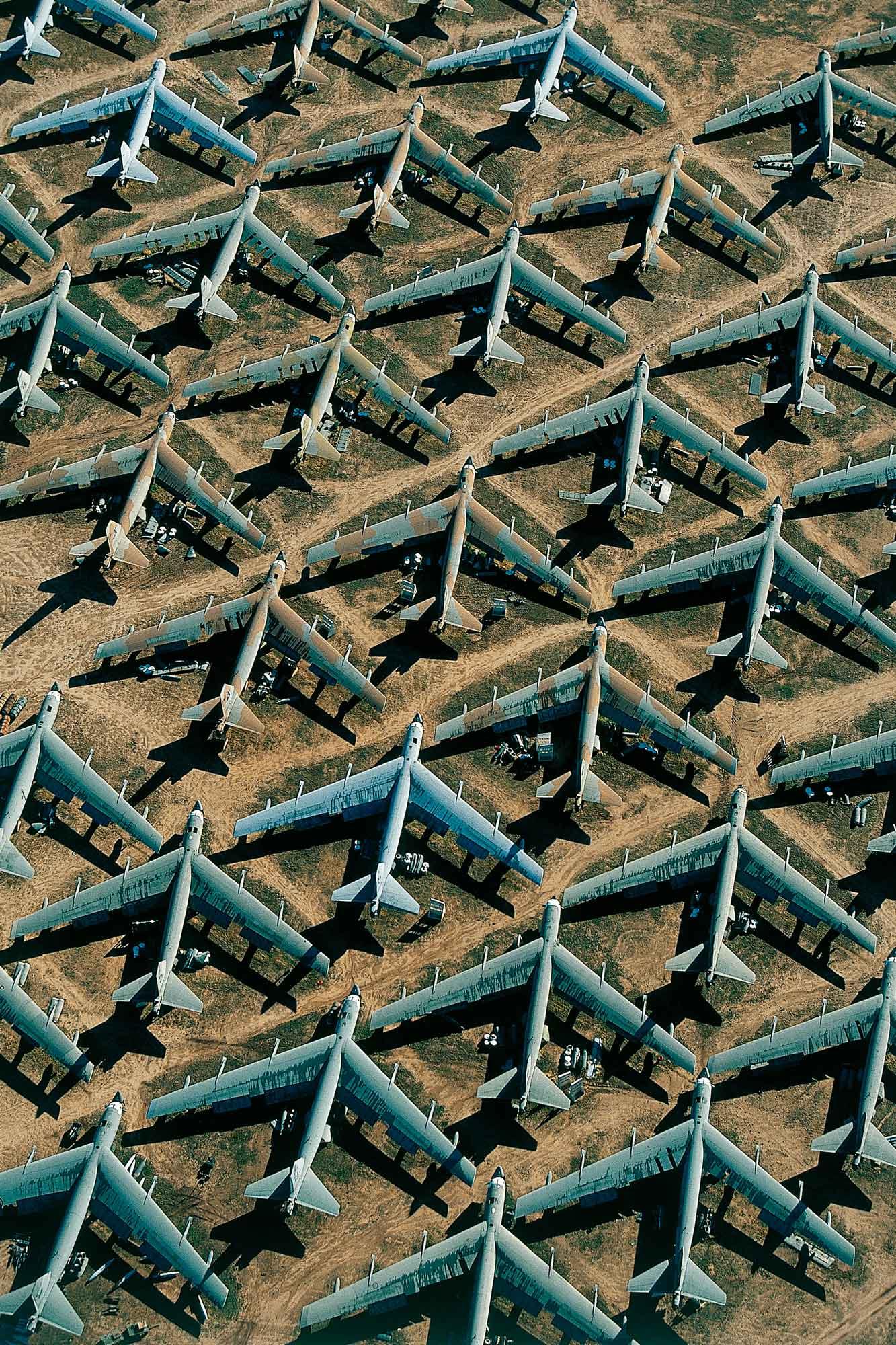 Base aérienne Davis Monthan - Yann Arthus-Bertrand