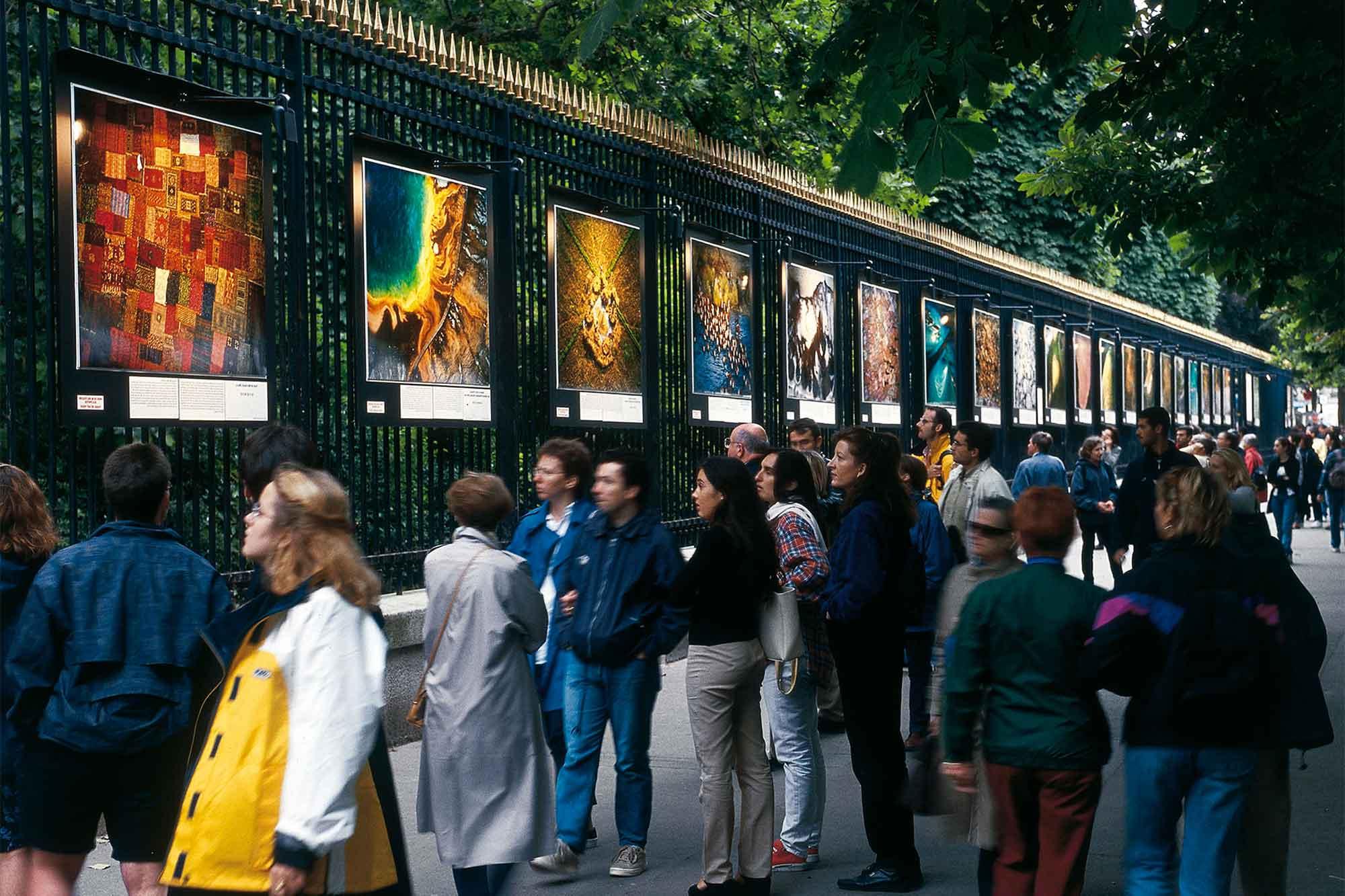 Les expositions en plein air de Yann Arthus-Bertrand
