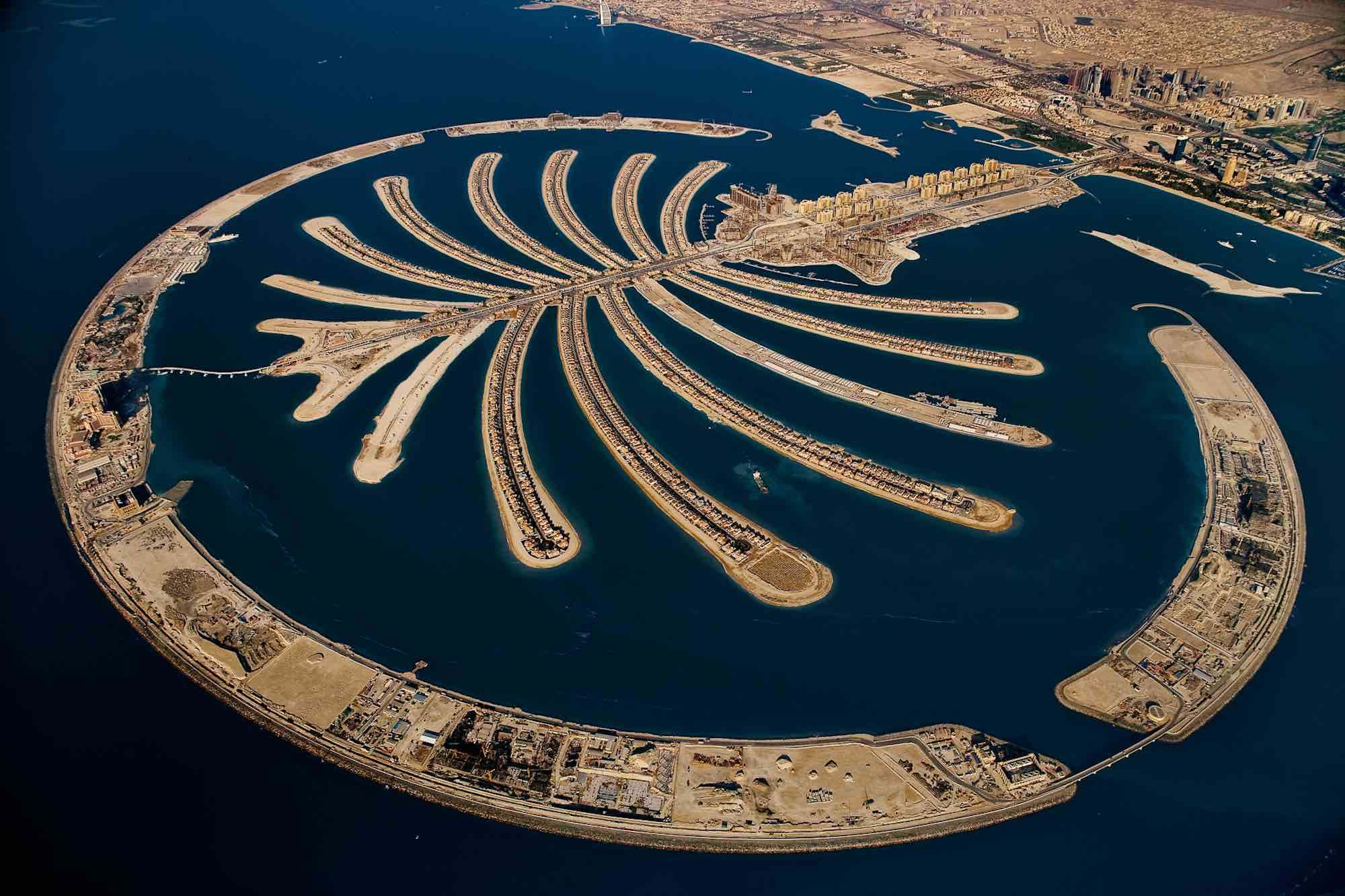 Artificial island - Yann Arthus-Bertrand