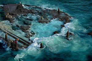 Fishermen in Beirut, Lebanon - Yann Arthus-Bertrand Photography