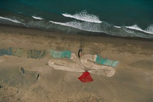 Fishing nets, Oman - Yann Arthus-Bertrand Photography