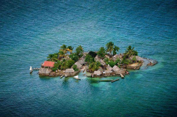 Iles Robeson, Panama - Yann Arthus-Bertrand Photographie