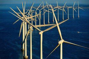 Wind farm, Denmark - Yann Arthus-Bertrand Photography