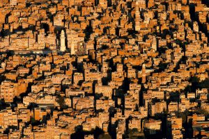 Sanaa, Yemen - Yann Arthus-Bertrand Photography