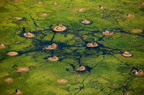 Swamps, South Sudan - Yann Arthus-Bertrand Photography