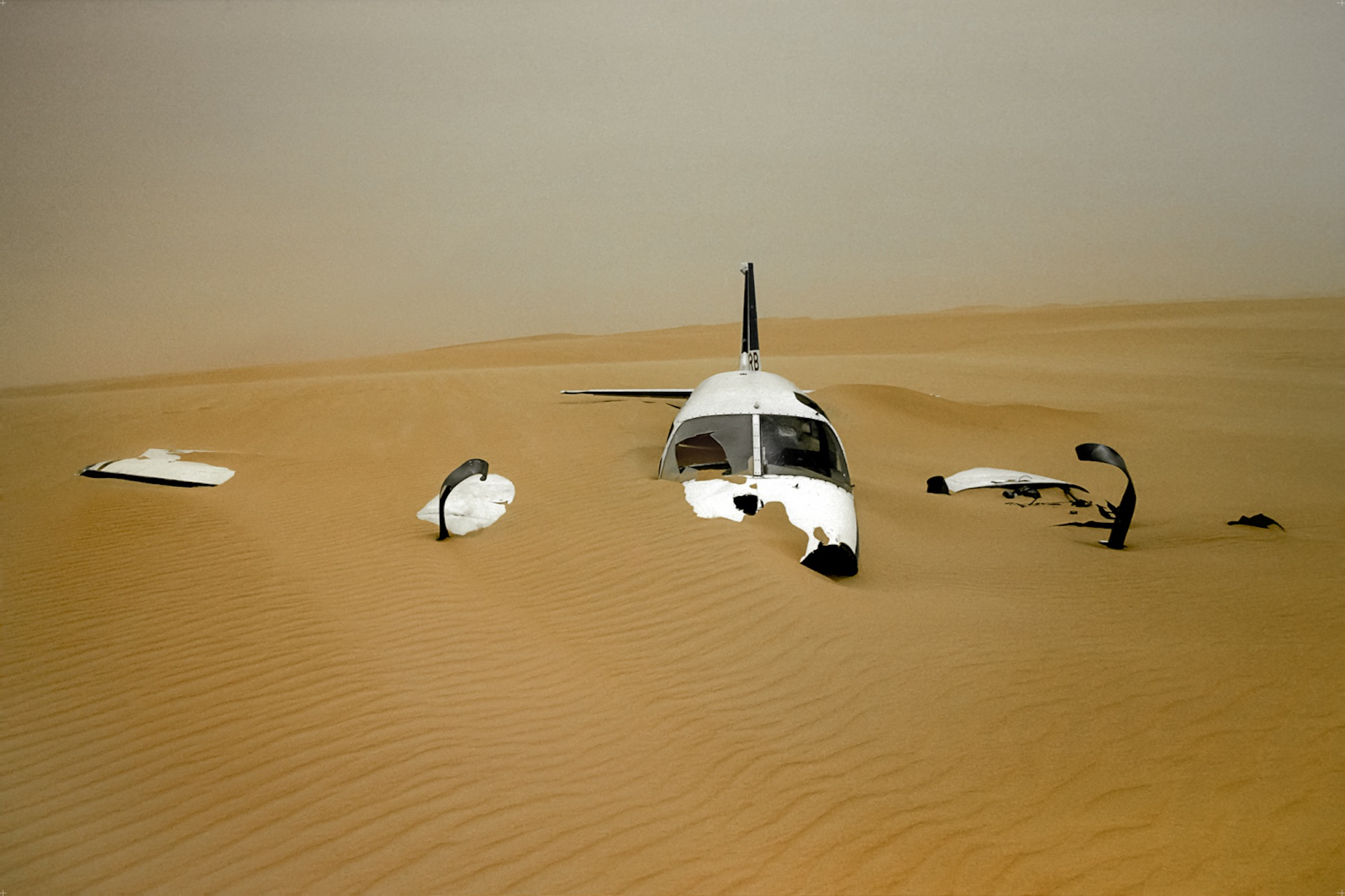 The Sand and the Plane - Yann Arthus-Bertrand