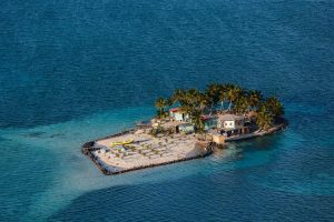 Caye, Belize - Yann Arthus-Bertrand Photo