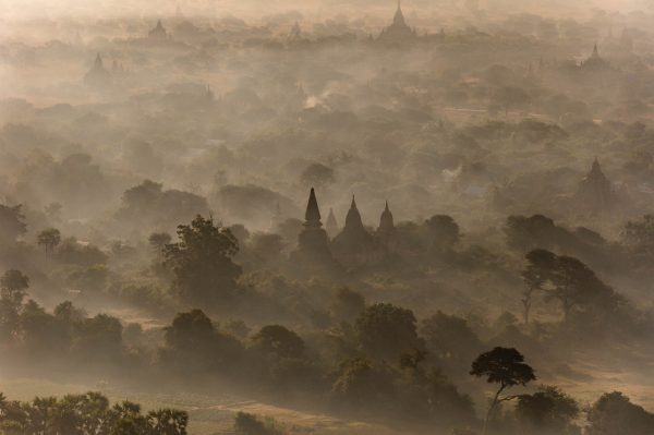 Twilight, Myanmar - Yann Arthus-Bertrand Photo