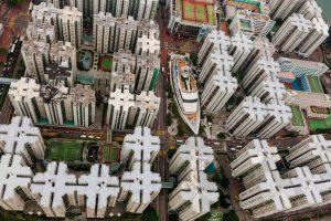 Bateau, Chine - Yann Arthus-Bertrand Photo