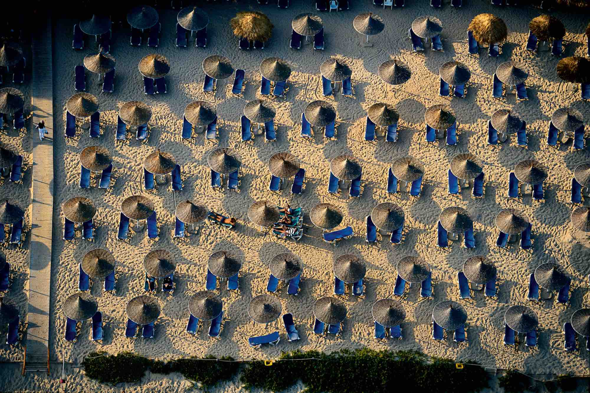 Umbrellas - Yann Arthus-Bertrand