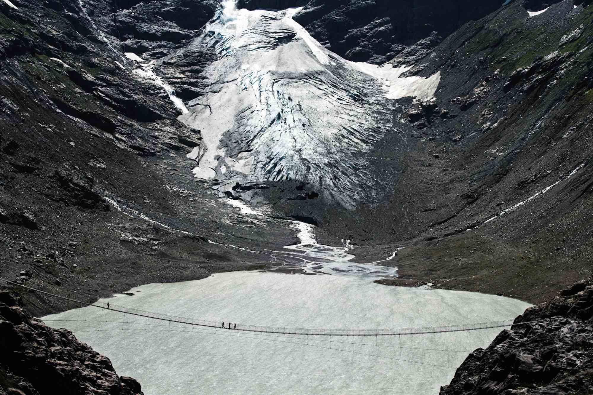 Glacial Lake - Yann Arthus-Bertrand