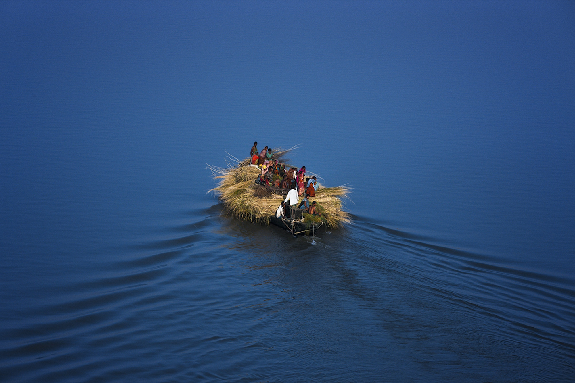 River Jamuna - Yann Arthus-Bertrand