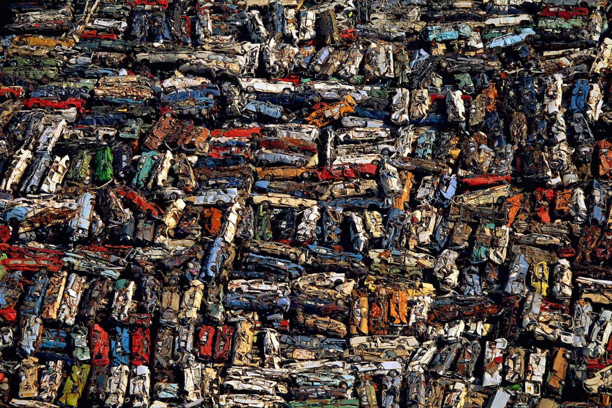Casse automobile - Yann Arthus-Bertrand